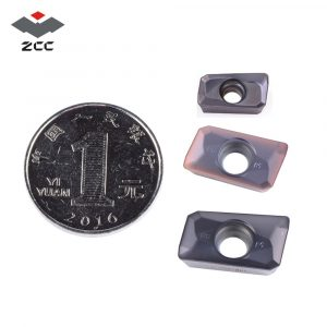 Milling Inserts,Carbide Inserts,10PCS APMT1604 Milling Inserts,Cemented Carbide Lathe Turning Inserts,15-50HRC Hardness,Suitable for fine and semi-fine milling of Stainless Steel M Materials
