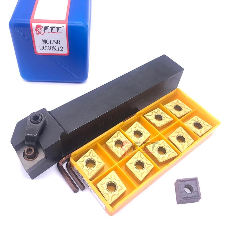 MCBNR2525M12 External Turning Tool Holder 25 x150mm for CNMG1204 Insert