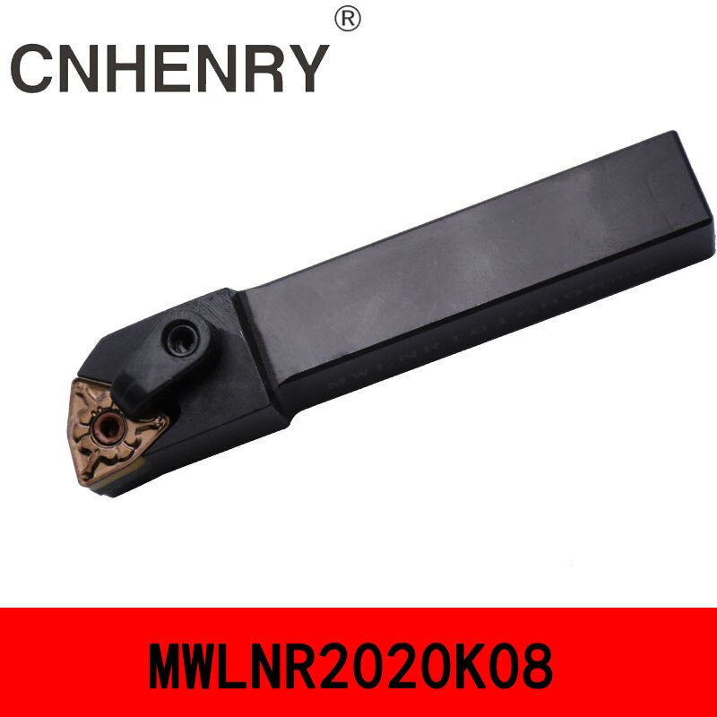 XKMY MWLNR1616H08 Lathe Turning Tool Holder 95 Degree with 2pcs Wrench for WNMG0804 Insert New