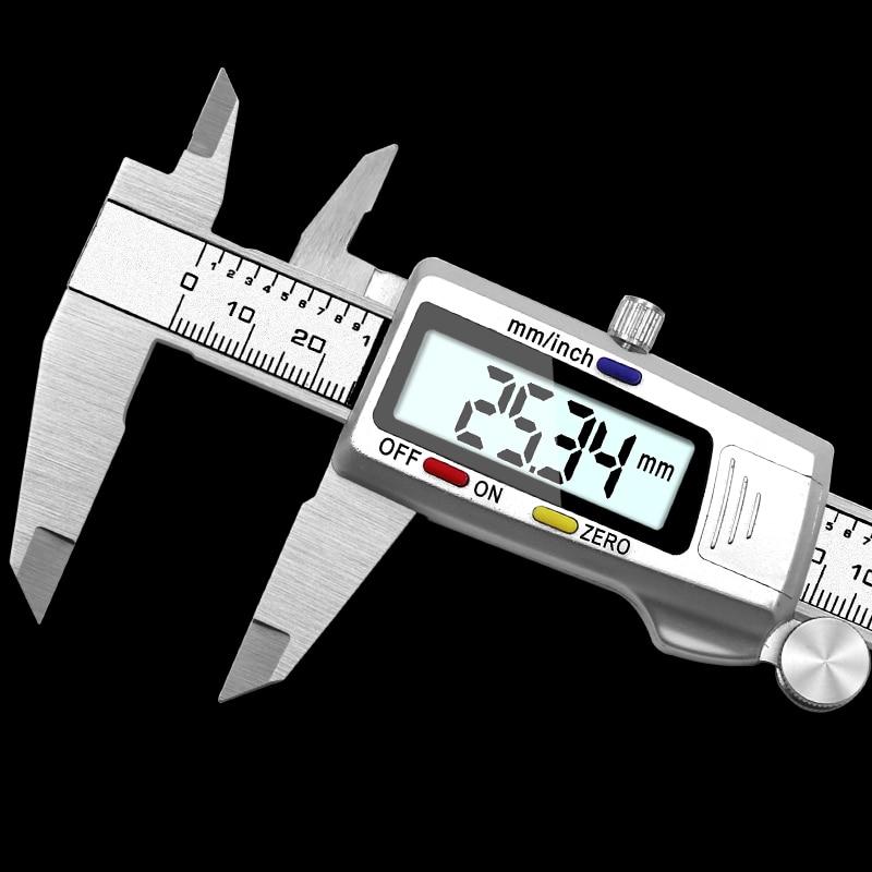150 mm 6 Inch Stainless Steel Digital Vernier Caliper Micrometer Electronic Tool
